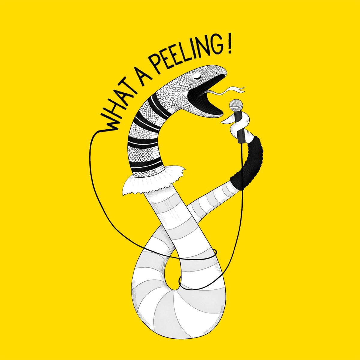 Snake Flashdance illustration